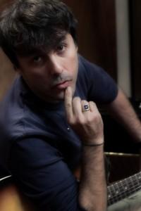 "Mario Venuti backstage ""L'ultimo romantico"""