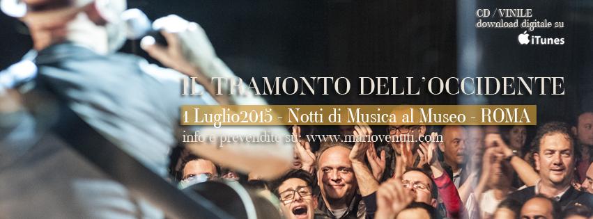 mario venuti concerti 2015